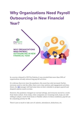 why organizations need payroll outsourcing in new financial year