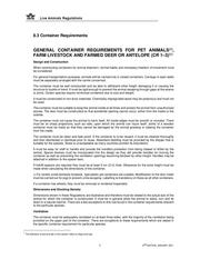 british airways   iag cargo   pet container requirements147een