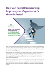 how can payroll outsourcing improve your organizations growth fa
