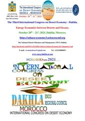 sahara dakhla international conference economy desert energy oce